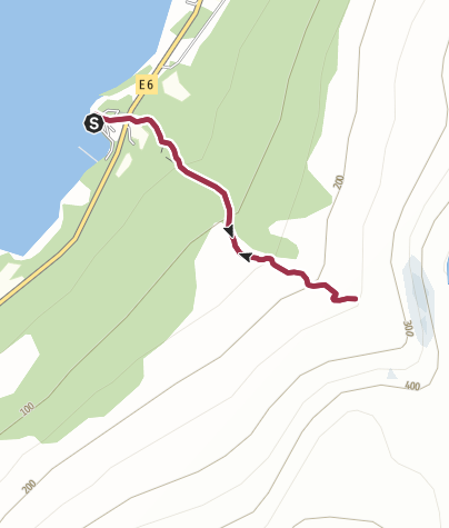 Karte / Fosselvfossen