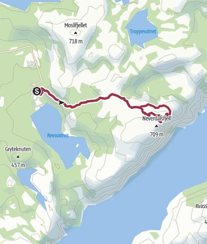 Karte / Preikestolen – Die Wanderung zur Kanzel