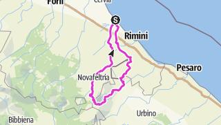 Térkép / Str.IT.CE06.137.1900 Rundum Monte Carpegna