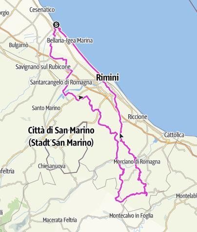 Map / Str.IT.CE03.115.1300 Monte Zaccarelli