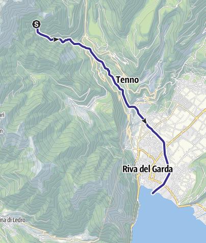 Karte / Rio Varoncello I