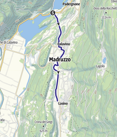 Map / Roggia di Calavino Q