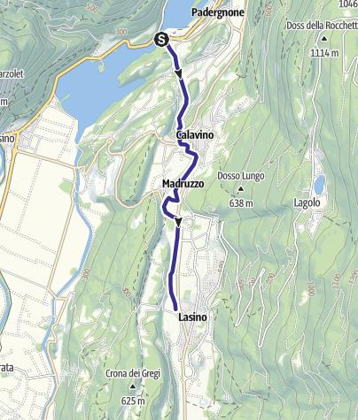 Mappa / Roggia di Calavino Q