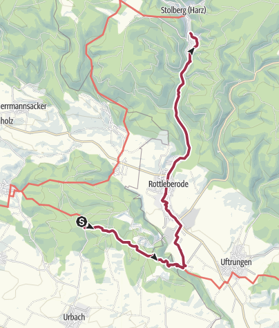 Karte / Kalkhütte - Stolberg
