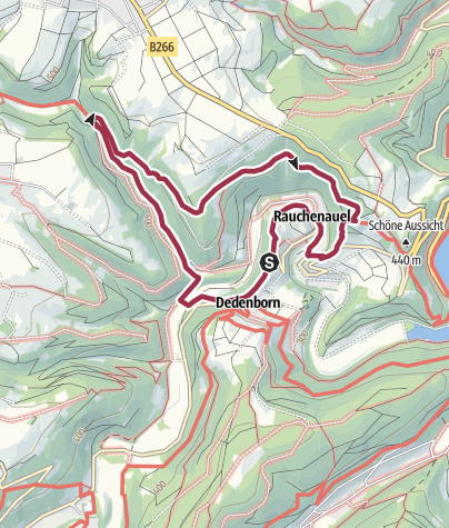 Karte / Eichheck-Runde (Dedenborn)