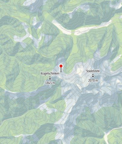 Karte / Teicheneggalm 1.600 m