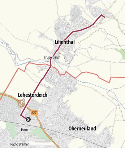 Karte / Jan-Reiners-Wanderweg