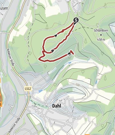 Karte / Waldweg Grenzenlos