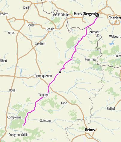 Karte / VSG Tour am 27. Mai 2016