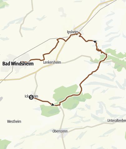 Karte / Schloßbergrunde