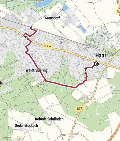 Karte / Übers Eis nach Gronsdorf