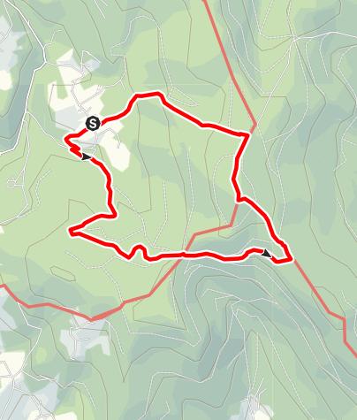 Karte / Hirschenstein über Mühlgrabenweg