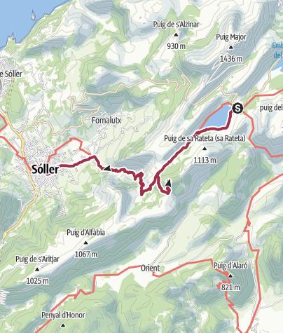 Map / B+H-2017-04-22-Mallorca: Cuberstausee-Soller