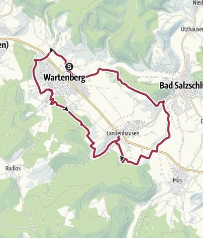 Karte / Wartenberger Panoramaweg