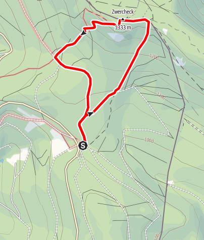 Karte / Zwercheck von Lohberg-Scheiben