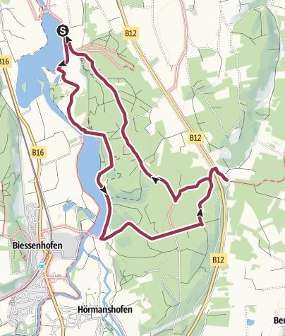 Karte / Bären/Bachtelsee Mooshüte
