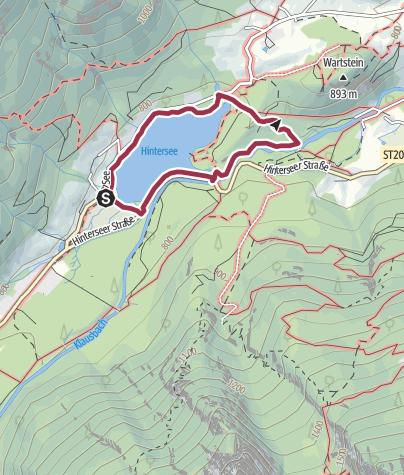 Karte / Hintersee - Zauberwald