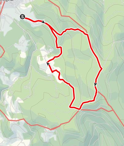 Karte / Hirschenstein von Glashütt