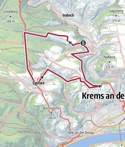 Karte / Rehberg Egelsee