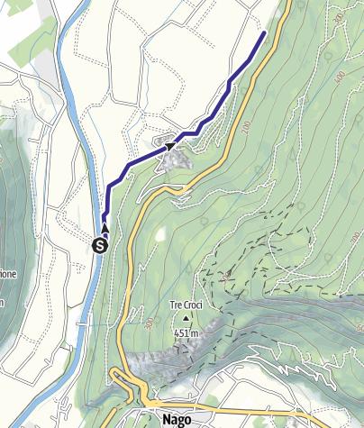 Mappa / Torrente Salone e Saloncello M