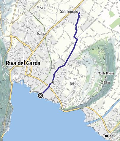Mappa / Torrente Galanzana e Bordellino S