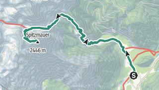 Map / Spitzmauer 2446 m im Stodertal Ö.Ö.