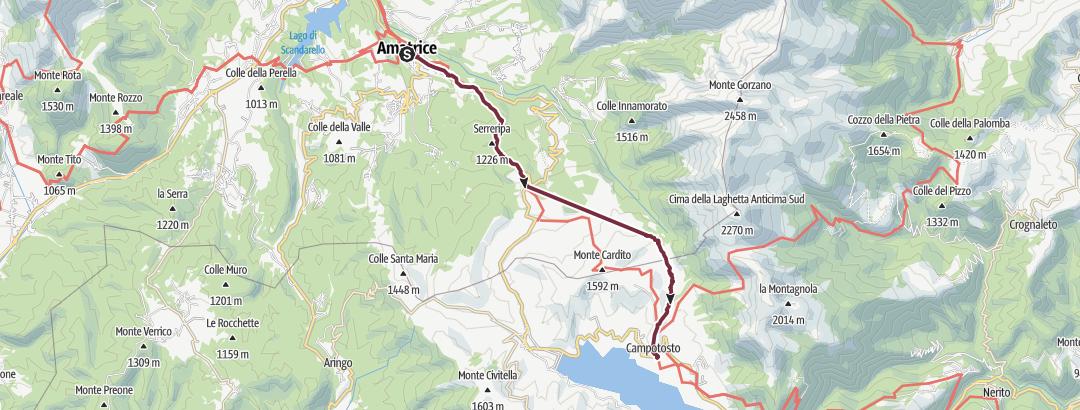 Karte / Abruzzen