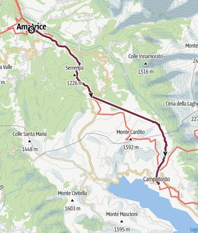 Mapa / Abruzzen