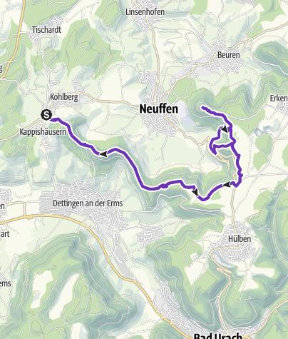 Karte / Jusi - Neuffen