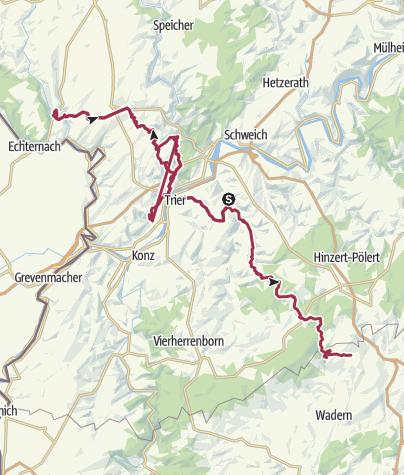 Karte / Wadrill