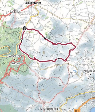 Map / El Rosario from Las Rosas
