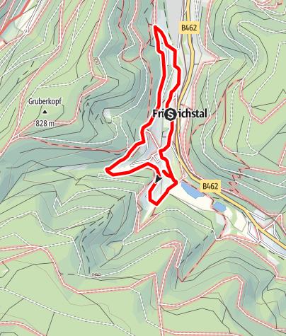 Karte / Erlebnispfad 2 - Im Tal der Hämmer