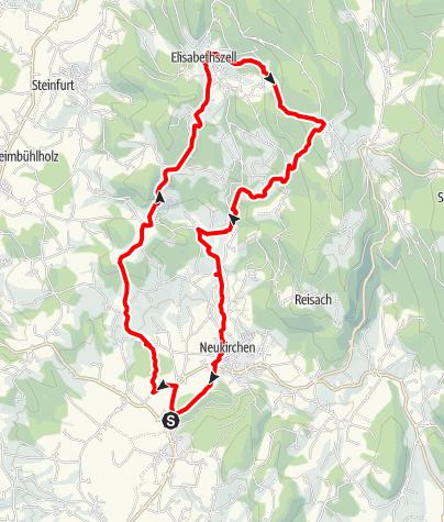 Karte / Elisabethszell von Steinburg
