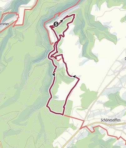 Karte / Zur Ginsterblüte in Erkensruhr