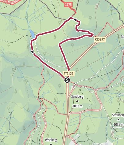 Karte / Siebensteinkopf