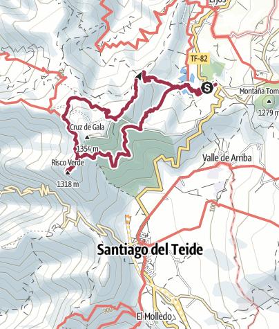 Karte / Erjos Teneriffa