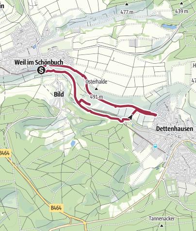 Karte / Immenweg