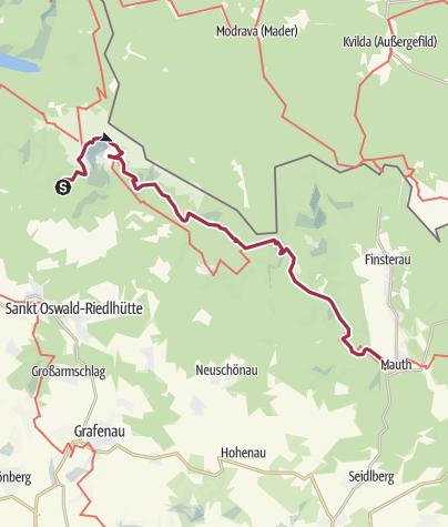 Nationalpark Bayerischer Wald Karte.Auf Dem Goldsteig über Rachel Und Lusen Nationalpark Bayerischer