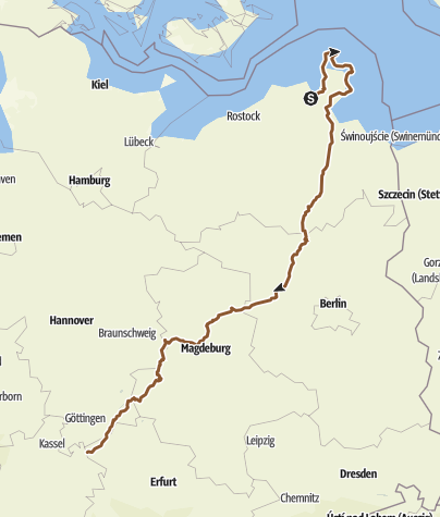 Karte / Deutschland diagonal Teil 1 PLANUNG