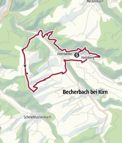 Karte / Mit Krebs un Karer unerwäschs
