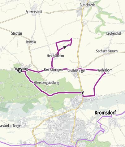 Map / Kleine Ettersbergrunde