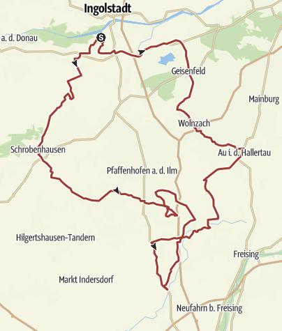 "Karte / 25. Juni 2016 Rollerausfahrt "" Sakrisch Guat"""