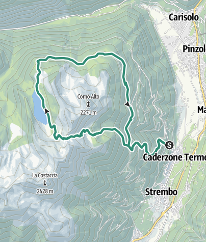 Map / Val Rendena - Laghetti San Giuliano