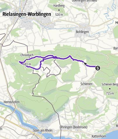 Hori Schienerbergrunde Mit Abstecher In Die Schweiz Trailrunning