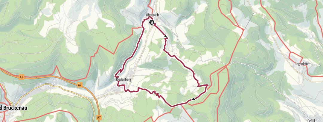 Cartina / Extratour Hüttentour