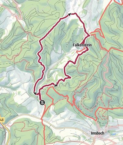 Karte / Falkensteiner Tour 01.07.16