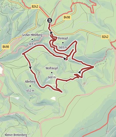 Karte / Venedigerspuren im Wolfstal