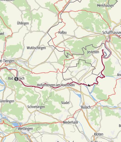 Karte / Bad Zurzach- Altenburg