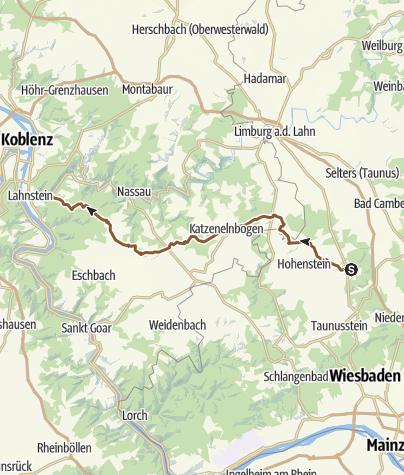 Karte / Görsroth nach Koblenz ,g.g. Friedrichssegen