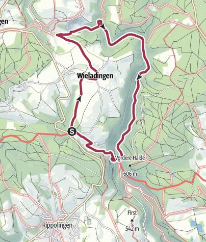 Karte / Wieladingen und Murgtal
